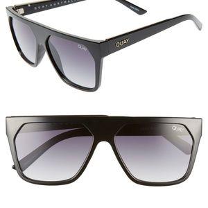 Quay Jaclyn Hill Very Busy Shield Sunglasses 45 mm